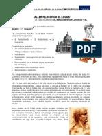 GUIA Nº 07. EL RENACIMIENTO FILOSÓFICO Y EL HUMANISMO