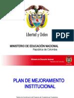7.Presentacion PLANES DE MEJORAMIENTO en PPT
