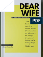 Dear Wife Prayer Journal