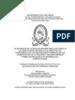 La incidencia de la regulacion mercantil en cuanto a la constitución, acceso a los créditos y el cumplimiento de las obligaciones formales de los comerciantes de la pequeña y mediana empresa PYMES en relación a su desarrollo y.pdf