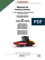 Manual de operacion y mantenimiento Dynapac CA250