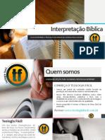 Ebook Interpretação Bíblica