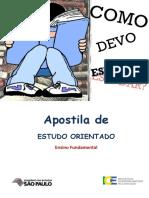 Apostila de ESTUDO ORIENTADO. Ensino Fundamental