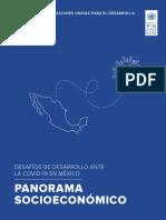 Desafíos de desarrollo ante la COVID-19 en México. Panorama socioeconómico