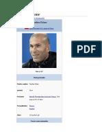 Zinedine Zidane WIKIPEDIA
