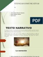exposicion texto narrativo , explicativo y argumentativo
