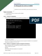 3.3.1.6 Lab - BIOS File Search Realizado Luis Robles.pdf