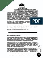 ESTUDIO DEL SECTOR TRANSPORTE