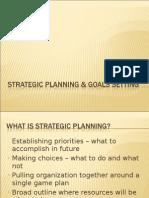 Strategic Planning & Goals Setting (1)