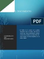 El Documento