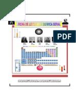 Ficha de Leitura de Quimica Geral-FCT-UZ-2016