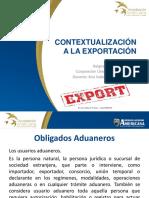 Clase 4 CONTEXTUALIZACION A LAS EXPORTACIONES - OBLIGADOS ADUANEROS.pdf