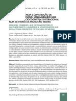 coesão coerência e construção de objetos de discurso