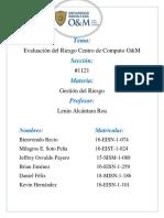 Analisis de Riesgo DC (Centro de Computo O&M)