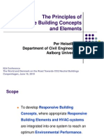 Integrating Environmentally Responsive Elements in Buildings