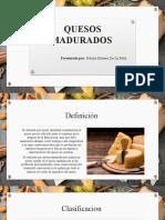 QUESOS MADURADOS by Natalia Herrera.