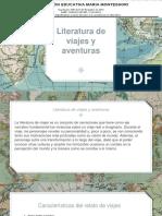 literatura y viajes lenguaje  ma