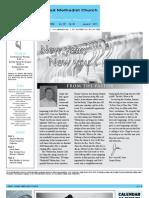 Newsletter - January 7, 2011