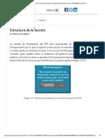 Estructura de la Sección _ Sección. Presupuesto _ Material del curso CEEP20033X _ MéxicoX