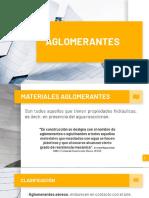 Aglomerantes- Grupo