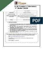1º Medio - Lenguaje - Guía nº 4.pdf