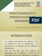 PROCESAMIENTO Y PRESENTACIÓN DE ANTÍGENOS