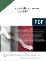 Impacto para México ante el covid-19