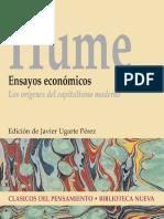 Hume, David. Ensayos económicos los orígenes del capitalismo moderno.pdf