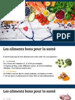 39-40 - Les Aliments Et La Santé