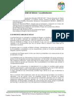 8.1 Informe de Riesgo y Vulnerabilidad San Juan de Ñauza