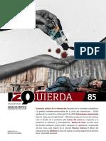 Revista Izquierda - número 85