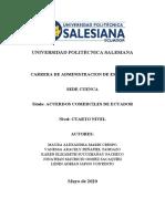 Acuerdos comerciales de Ecuador