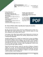 Romeu Marfa - Demand Letter