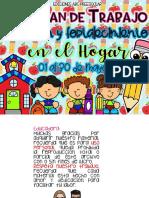 TERCER PLAN DE TRABAJO DE ATENCIÓN Y FORTALECIMIENTO EN EL HOGAR