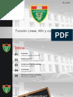 Algebra - Funcion Lineal