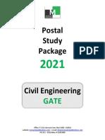 GATE-Civil-Engineering-Postal-Study-Package-Checklist