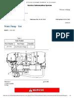 Water Pump - Test - C27 Generator Set GDS00001-UP