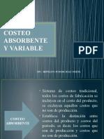 Costeo Absorbente y Variable