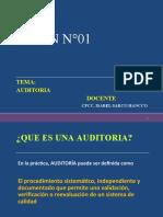 Que es una auditoria SESIÒN  Nº01