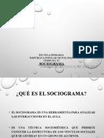 Sociograma Secundaria Luis Pasteur