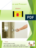 Force & Pressure PPT-1