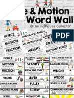 05 - force   motion word wall - from the tc collection