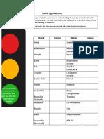 traffic light activity