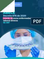 ABECÉ DECRETO 676 DE 2020 COVID-19 COMO ENFERMEDAD LABORAL DIRECTA.pdf