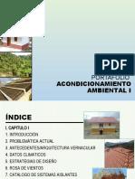 PORTAFOLIO ACONDICIONAMIENTO AMBIENTAL I