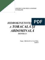 Aplicatii hidrokinetoterapie
