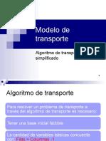 Clase9 Algoritmo de transporte 2014