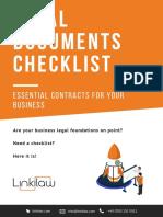 Linkilaw Legal Documents Checklist