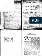 Alchemy - A Collection of Ten - Several Treatises in Chemistry