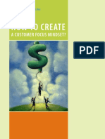 Customer focus mindset